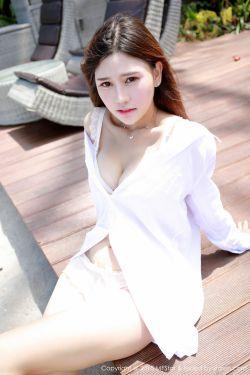 [模范学院MFStar] No.026 @Milk楚楚《龙目岛旅拍》白衬衫+束缚比基尼